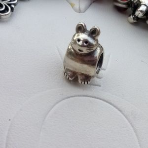 Pandora kitty cat sterling silver 925 ALE